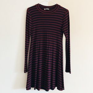 Striped Long Sleeve Dress - Worn Twice!